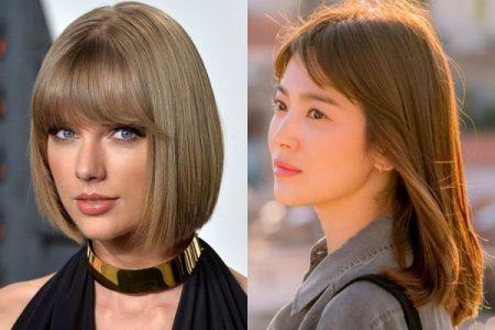 model rambut wanita untuk wajah bulat